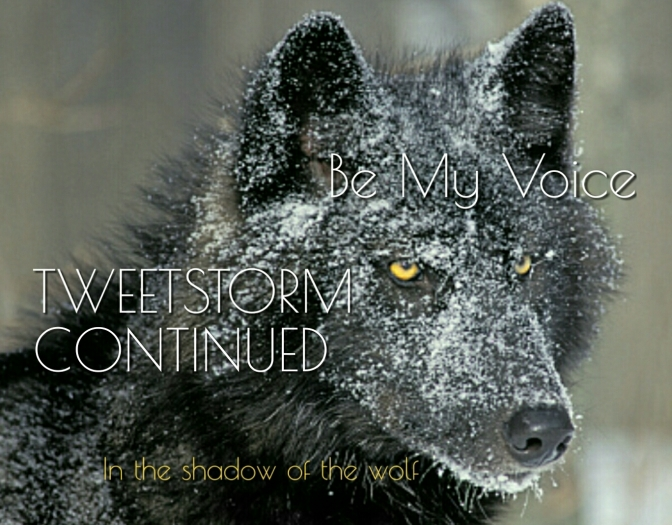 Tweet4Wolves Page Two: Stop H.J.Resolution 69